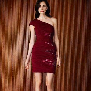 $368 NWT TADASHI SHOJI Bodycon Evening Party dress